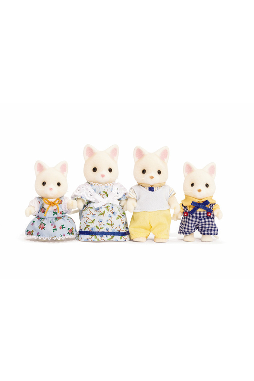 Calico Critters Silk Cat Family - Main Image