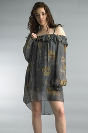 Tempo Paris Silk Chiffon Tunic - Product Mini Image