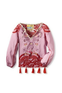 Beth Friedman Silk Embroidered Blouse - Product List Image