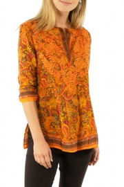 Gretchen Scott Silk Embroidered Tunic - Front cropped