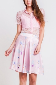 Sophie Cameron Davies Silk Floral Skirt - Product Mini Image