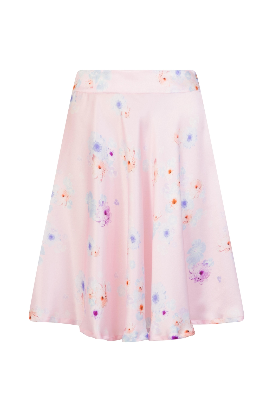 Sophie Cameron Davies Silk Floral Skirt - Front Full Image