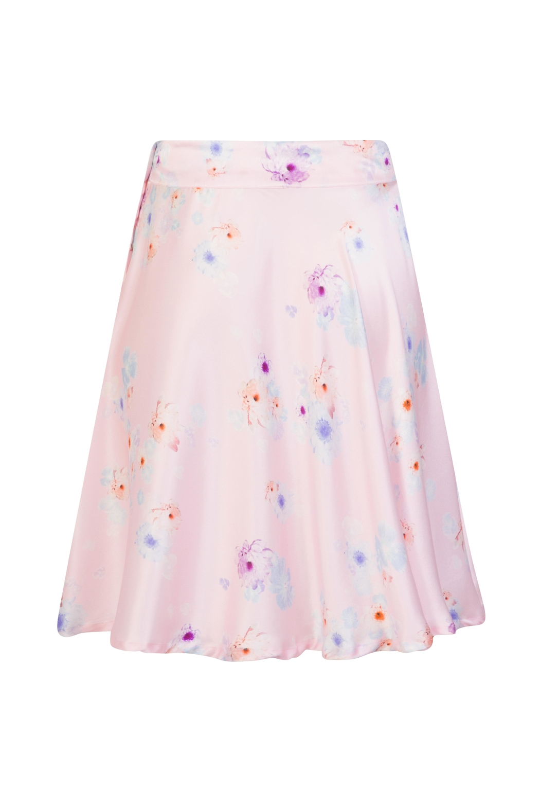 Sophie Cameron Davies Silk Floral Skirt - Side Cropped Image