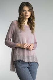 Tempo Paris Silk Hi-Lo Tunic - Product Mini Image