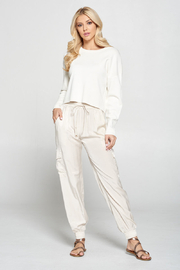 Pinch SILK JOGGERS - Front cropped