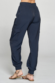 Pinch SILK JOGGERS - Side cropped