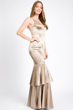 Shoptiques Product: Silk Layered Mermaid Gown