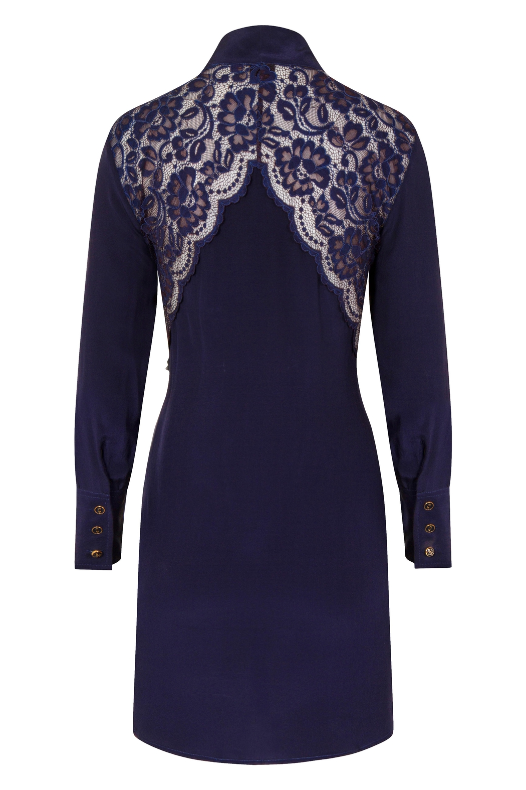 Sophie Cameron Davies Silk Mini Dress - Side Cropped Image