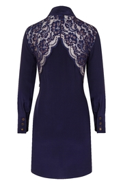 Sophie Cameron Davies Silk Mini Dress - Side cropped
