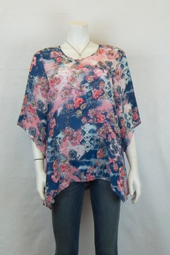 TIANELLO Silk Natalie Blouse - Product List Image