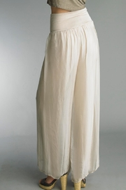 Tempo Paris Silk Palazzo Pant - Side cropped