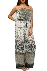 Dazzling Silk Printed Jumpsuit - Product Mini Image