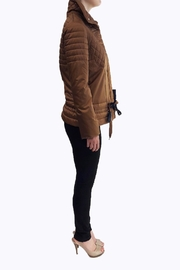 JC DE CASTELBAJAC Silk Puffer Jacket - Front full body