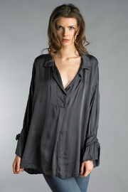 Tempo Paris Silk Relaxed Blouse - Product Mini Image
