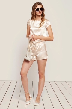 Shoptiques Product: Silk Satin Romper