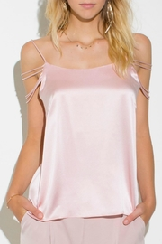 Amanda Uprichard Silk Strappy Blouse - Product Mini Image