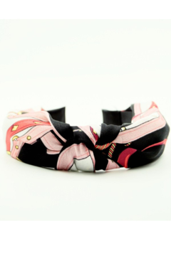 Shoptiques Product: Silk Top Knot Headband