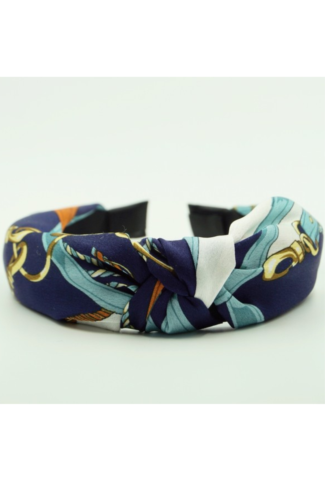 arthur jane claire  Silk Top Knot Headband - Front Cropped Image