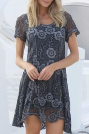 Gretty Zuegar Silk Tunic Dress - Product Mini Image