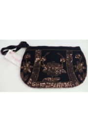 tu-anh Silk Velvet Clutch - Front cropped