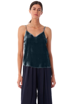 Tina + Jo Silk-Velvet Raw Cami - Product List Image