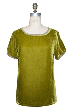 Ivy Jane Silk Velvet Tee - Product List Image