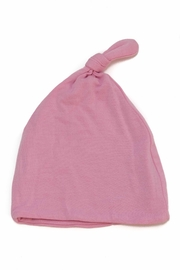 silkberry baby Bamboo Knot Hat - Front full body
