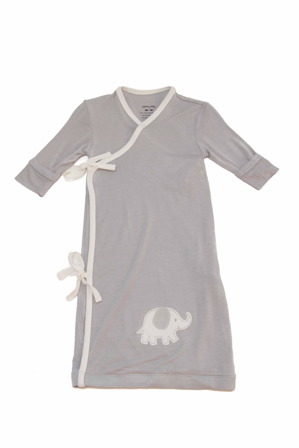 silkberry baby Kimono Sleeper Gown from Ontario by Esby&Soph ...
