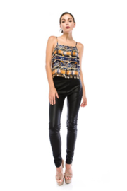 virgin only Silky Aztec Crop - Product Mini Image