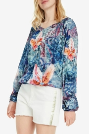 DESIGUAL Silky Blouse - Front cropped