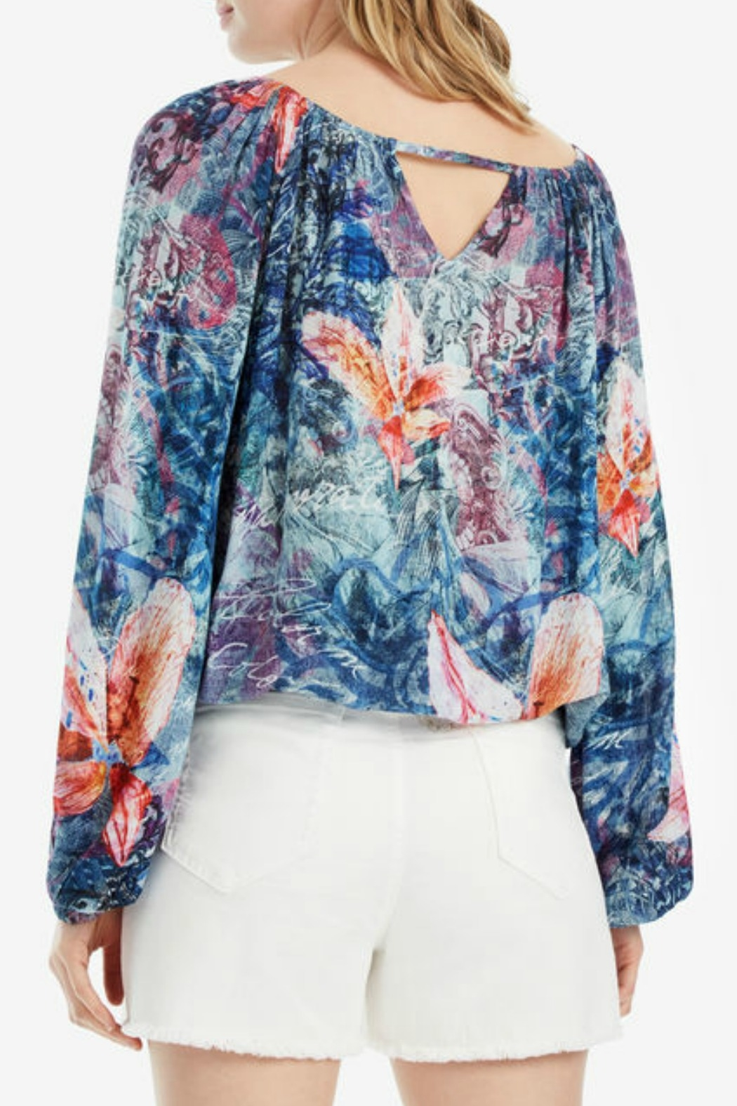 DESIGUAL Silky Blouse - Front Full Image