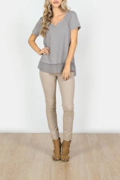 Shoptiques Product: Silky Bottom t-Shirt