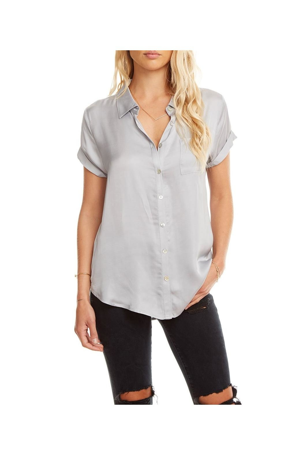 Chaser Silky Button Down - Main Image