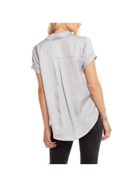 Chaser Silky Button Down - Front full body