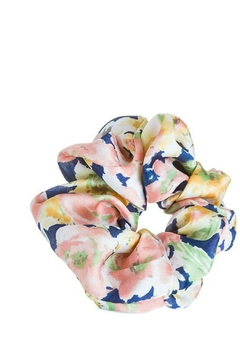 AL Boutique Silky Floral Scrunchie - Alternate List Image