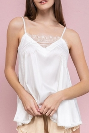 POL Silky Lace Cami - Product Mini Image