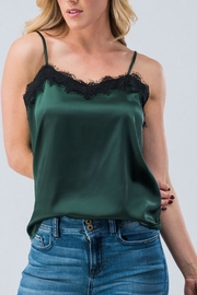 AKAIV Silky Lace Camisole - Front cropped