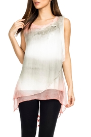 Adore Silky Layered Blouse - Product Mini Image