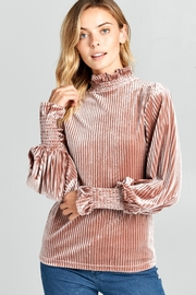Racine Silky Turtleneck Top - Product Mini Image