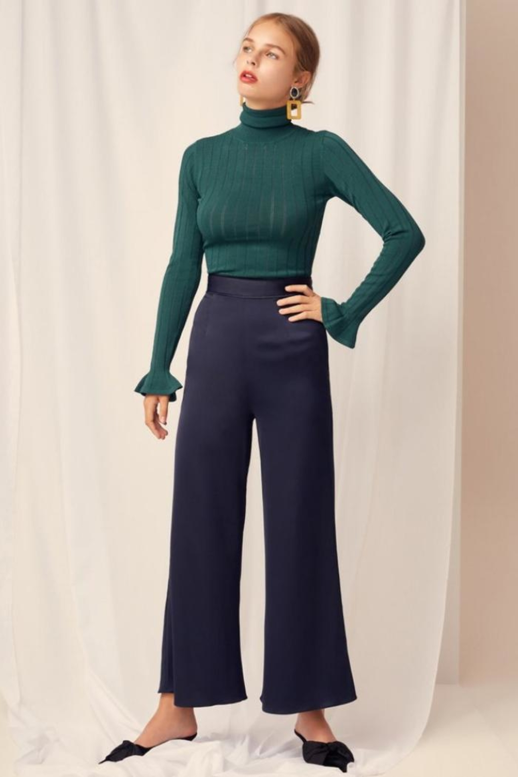 Keepsake Silky Wide-Leg Pant - Main Image