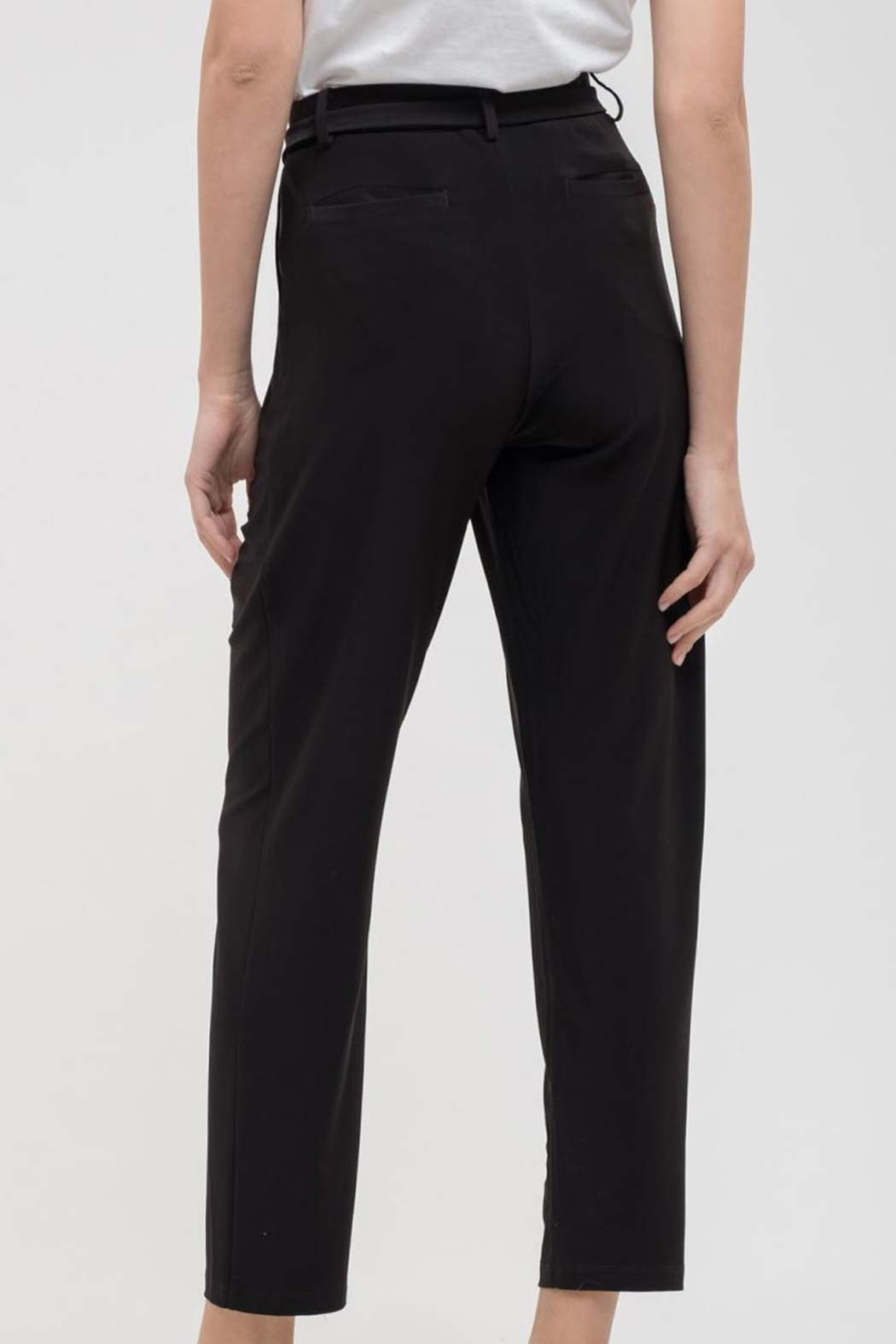 Blu Pepper Silky Woven Pant - Front Full Image