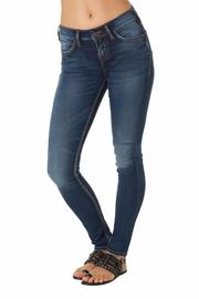 Silver Aiko  Jeans - Product Mini Image