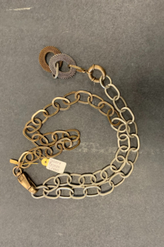 debe dohrer design Silver and Bronze chain - Product List Image