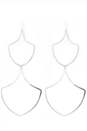Lotus Jewelry Studio Silver Asilah Earrings - Product Mini Image