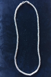 Beth Friedman Silver Bali Chain - Front full body