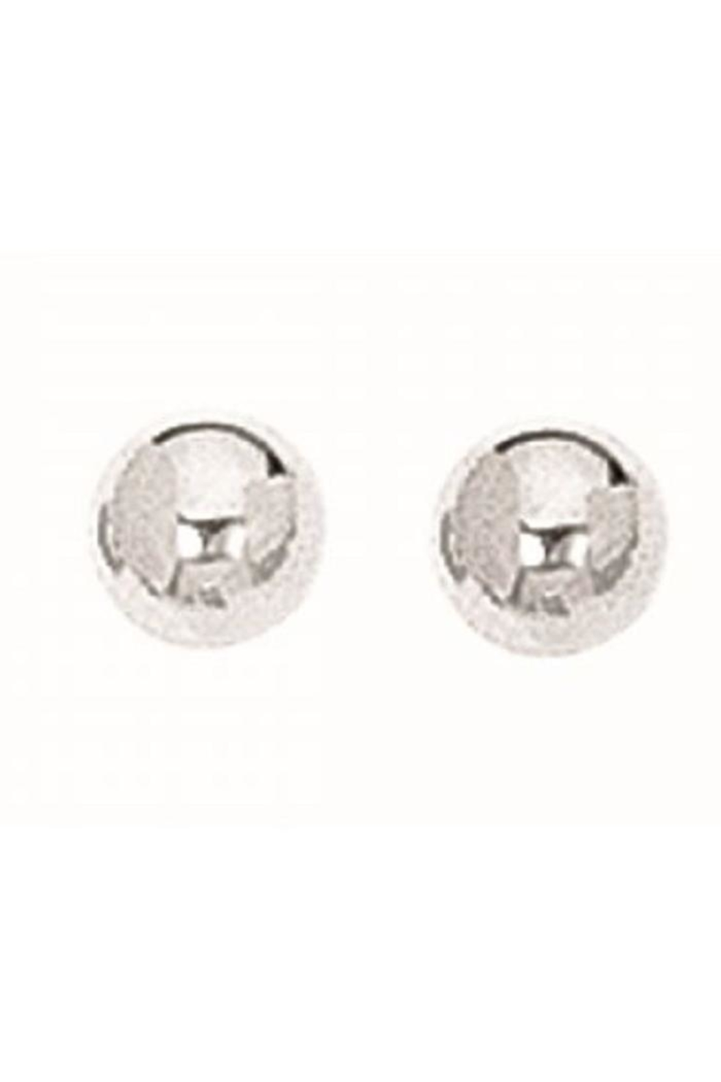 Bling It Around Again Silver Ball Studs - Main Image