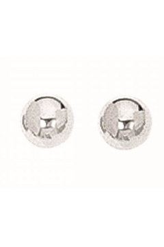Shoptiques Product: Silver Ball Studs