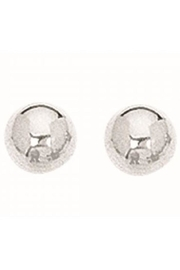 Bling It Around Again Silver Ball Studs - Product Mini Image