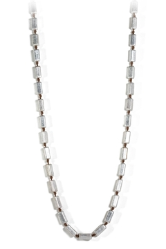 Marlyn Schiff Silver Block Necklace - Alternate List Image