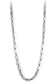 Marlyn Schiff Silver Block Necklace - Product Mini Image